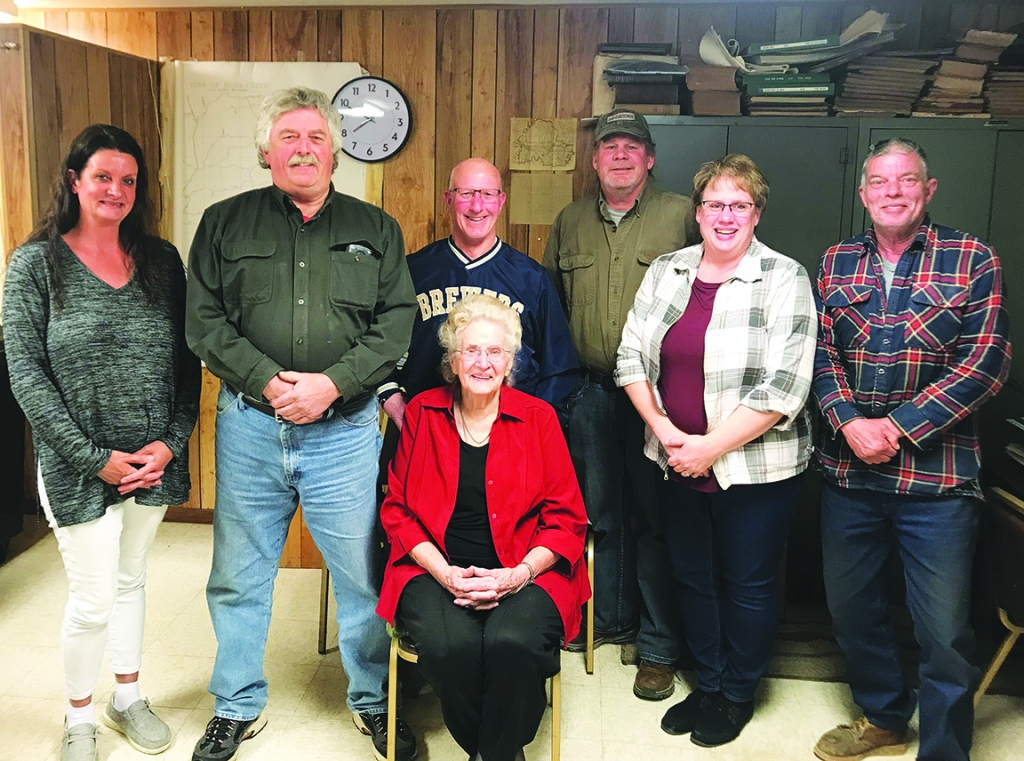 At the Town of Bear Creek's annual meeting last week, outgoing clerk Eileen Eberle was honored for 38 years of service to the community. Eberle...