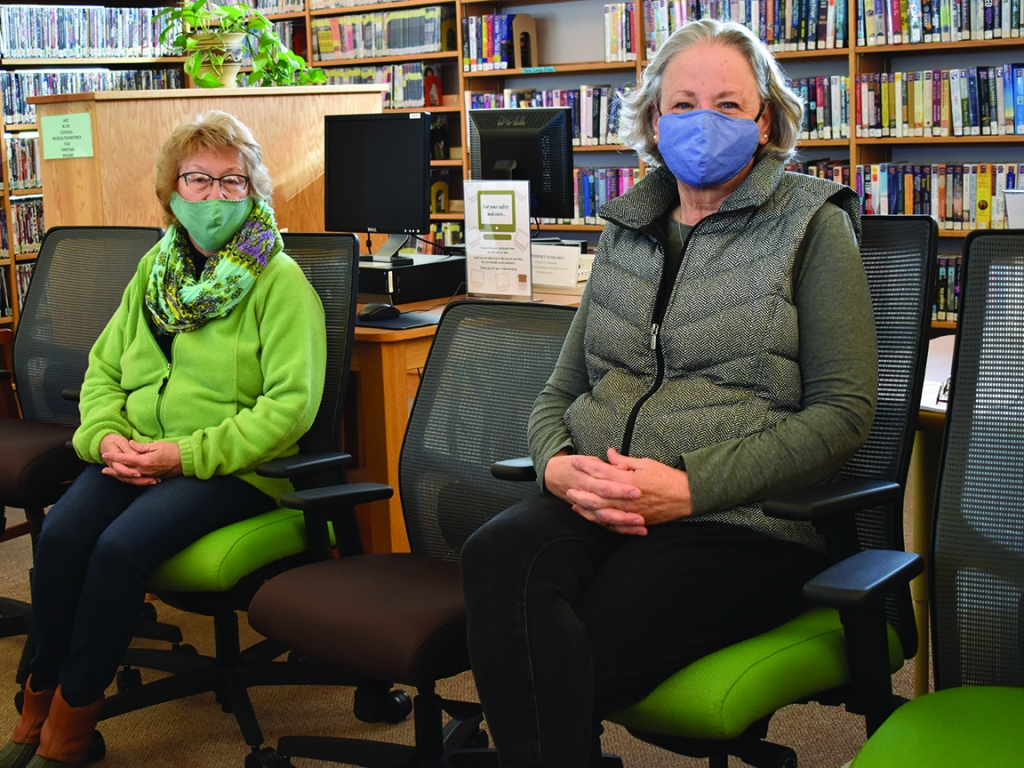 The Friends of the Spring Green Community Library donated $9,500 to the library last year. Part of that money was used to purchase new adjustable...