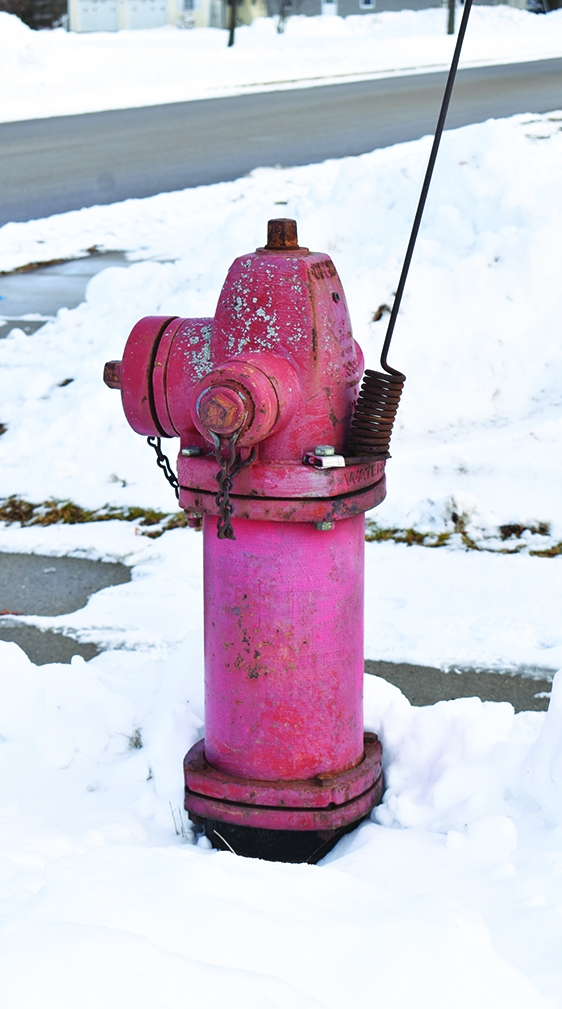 Fire hydrants must be kept clear of snow and ice, like the one above, for the safety of all. Everyone is responsible for fire hydrants in the...