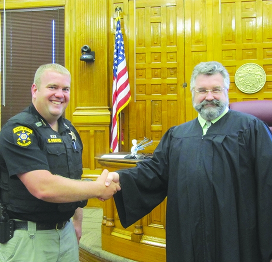 Clay Porter has been appointed Richland County Sheriff by Governor Tony Evers. The appointment fills a vacancy created by Sheriff James J.Bindl...