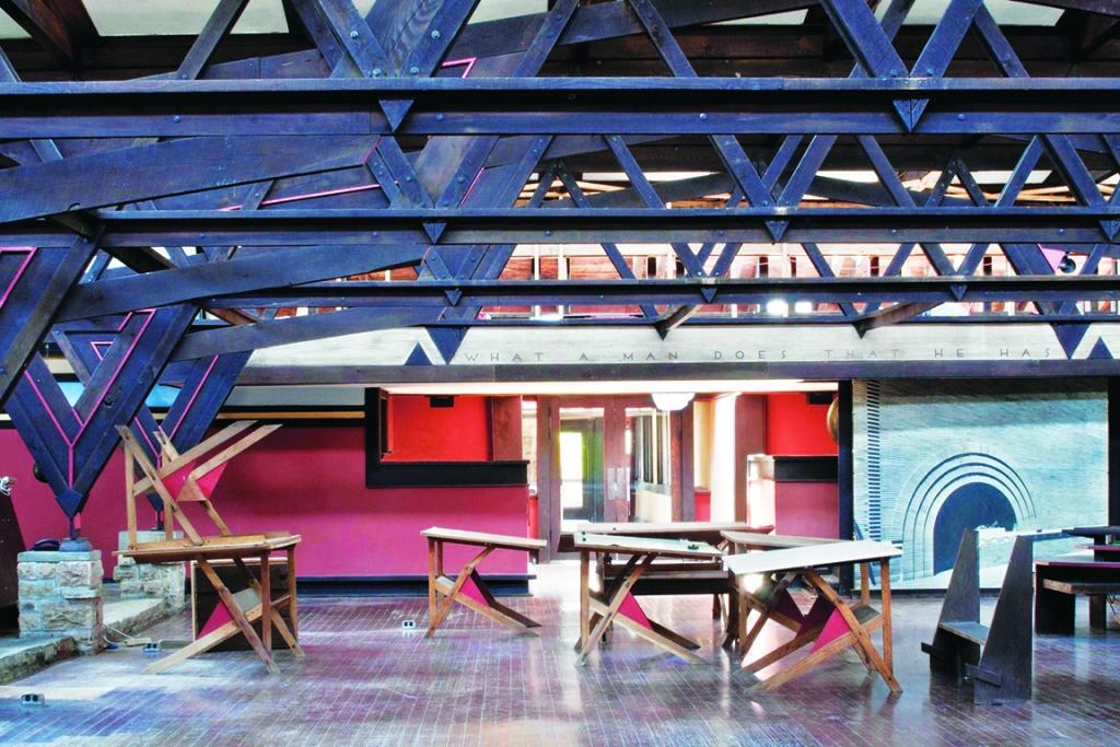 One year ago Frank Lloyd Wright's celebrated school of architecture, the Frank Lloyd Wright School of Architecture, was declared dead. For...